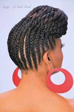 31 Best Ghana Braids Hairstyles Stayglam Rh Pencil African Latest Lines Hairstyle