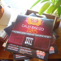 Calendario 2015 / Fundación Hogar Santa Ana