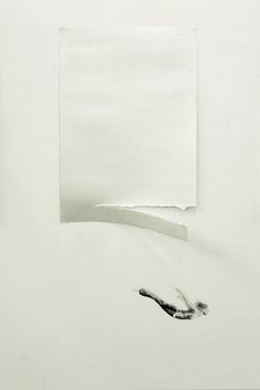 Cesar Del Valles Illustrations Interact with their Physical Surroundings people installation illustration drawing body black and white