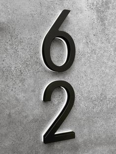 Against medium dark gray siding/ thick white trim. Just need the rich dark wood /mahogany background Illuminated House Numbers, Rustic House Numbers, Large House Numbers, Led House Numbers, Ceramic House Numbers, Dark House, Up House, Black Exterior, Modern Exterior