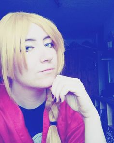 I was a lazy Edward today when I had to walk out my dog  #cosplans #blondewig #edwardelric #fma #fmabrotherhood #cosplaywig  #fullmetalalchemistbrotherhood #fullmetalalchemist #alchemy #cosplay #remon_cosplay #fmacosplay #edwardelriccosplay #costest #cosplayfeedback #cosplaywigs #crossplay #crossplayer #germancosplay #germancosplayer #otaku #fandom #cosplayinprogress #cosplaymakeup