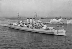 HMS Norfolk was a County-class heavy cruiser of the Royal Navy; along with her sister ship Dorsetshire, she was part of a planned four-ship subclass