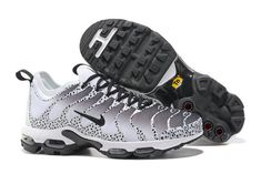 a8e69e34be3927 Most popular Nike Air Max Plus TN Ultra Sneakers White Black Men s Running  Shoes 881560 431