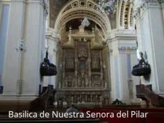 """Places to see in ( Zaragoza - Spain ) Basilica de Nuestra Senora del Pilar  The Cathedral - Basilica of Our Lady of the Pillar is a Roman Catholic church in the city of Zaragoza Aragon Spain. The Basilica venerates Blessed Virgin Mary under her title Our Lady of the Pillar praised as """"Mother of the Hispanic Peoples"""" by Pope John Paul II. It is reputed to be the first church dedicated to Mary in history.  Local traditions take the history of Basilica de Nuestra Senora del Pilar to the dawn of…"""
