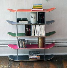 Buy this...or be inspired to make one for the skate boarder in your life.
