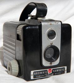 1949-1951 Brownie Hawkeye...my first camera :)