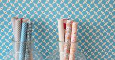 Petit-Pan lance une ligne de papier peint aux accents rétro - Marie Claire Maison