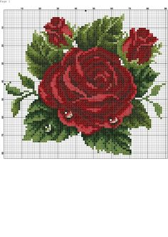 This Pin was discovered by ANN Xmas Cross Stitch, Cross Stitch Rose, Modern Cross Stitch, Cross Stitch Flowers, Cross Stitch Designs, Cross Stitching, Cross Stitch Embroidery, Hand Embroidery, Cross Stitch Patterns