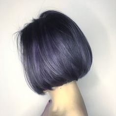 Korean Hair Color, Korean Short Hair, Short Hair Cuts, Medium Hair Styles, Short Hair Styles, Lavender Hair Colors, Hair Contour, Hair Color Streaks, Ombre Hair
