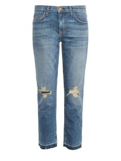 The Cropped low-rise straight-leg jeans | Current/Elliott | MATCHESFASHION.COM US