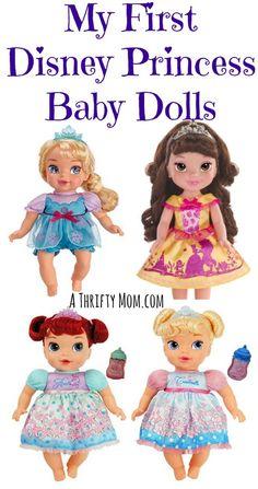 My First Disney Princess Baby Dolls