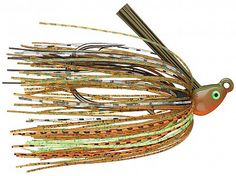 """These are the perfect jigs for every swim jig application. Swim jigs work great around grassy areas where you cannot fish a spinnerbait or chatterbait. Add a 4"""" boot tail Keitech Trailer and swim it n"""