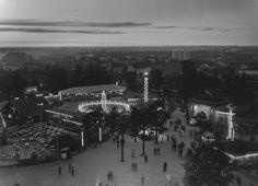 Linnanmäki illalla 1955