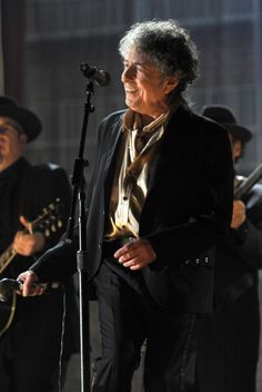 Bob Dylan performs onstage during The 53rd Annual GRAMMY Awards held at Staples Center on February 13, 2011 in Los Angeles California