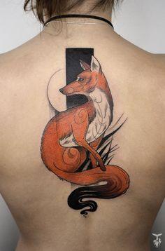 I Create Nature And Art Nouveau Inspired Tattoos