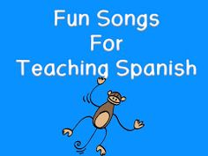 songs to teach Spanish and games.  I like mano y mano best for body part vocab