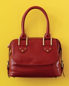 I will own a red patent leather bag