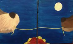 Lady and the Tramp Couples Painting Tuesday, February 10th 6:00-9:00