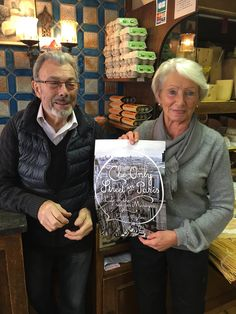 Yves and Annick Chataigner of Fromagerie Chataigner Photo Credit Pierre d'Almeida