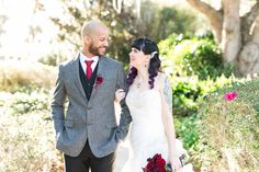 Cypress Grove Estate House bride and groom