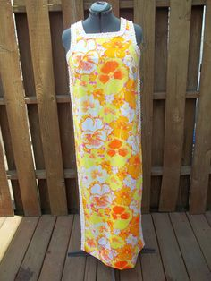 Lilly Pulitzer Tropical Beach Swimsuit Cover up Vintage 1960s