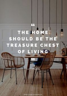 The home should be the treasure chest of living. – Le Corbusier Read more beautiful quotes about the home here: https://nyde.co.uk/blog/quotes-about-home/