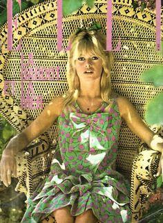 Brigitte Bardot in Vintage Chloe