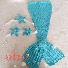 crochet little mermaid tails for little girls | make handmade, crochet ...