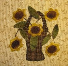 check out the stitching in the flowers