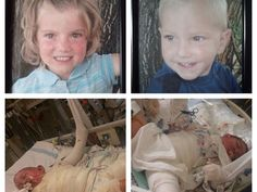 Please consider donating to help out this family with expenses in the care for their sweet kids who were burned in a camper fire.