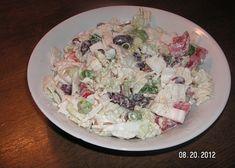 Salát z čínského zelí s křenem a fazolemi recept - TopRecepty.cz Potato Salad, Potatoes, Ethnic Recipes, Food, Potato, Essen, Meals, Yemek, Eten