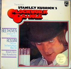 """""""Themes from Stanley Kubrick's A Clockwork Orange"""". Original 1972 UK stereo LP featuring music from the film conducted by Roberto Benzi and Franz Konwitschny. Label: Philips. Format: Vinyl."""