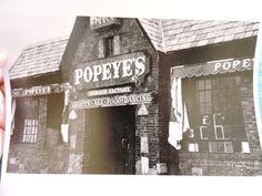 1974 POPEYE'S Sheepshead bay Davy Jones Brooklyn New York City NYC Photo 8x10