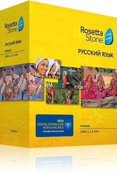 Rosetta Stone Russian v4 TOTALe - Level 1, 2, 3, 4 & 5 Set - Learn Russian
