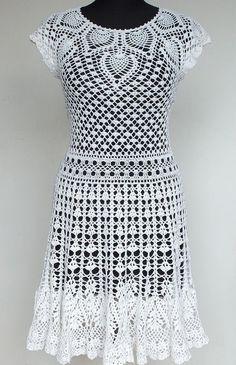 Knitted dress NatalieCrochet P