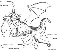 dragon fish coloring pages - photo#28