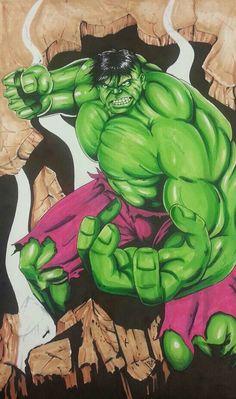 ##Hulk #Fan #Art. (Hulk Smash!) By: Derhenker13. (THE * 5 * STÅR * ÅWARD * OF: * AW YEAH, IT'S MAJOR ÅWESOMENESS!!!™)[THANK Ü 4 PINNING<·><]<©>ÅÅÅ+(OB4E)