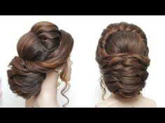 New Bridal Hairstyle Tutorial For Long Hair.  Wedding Updo