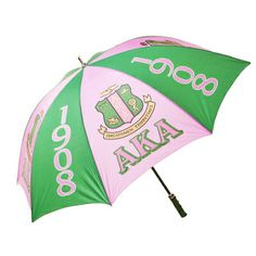30'' Windproof Umbrella for Alpha Kappa Alpha