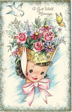 243 best vintage greeting cards images on pinterest vintage vintage greeting card m4hsunfo