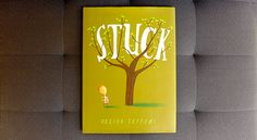 'Stuck,' Oliver Jeffers. Floyd gets his kite stuck in a tree, and then a whole bunch of other stuff. #WhatWeeRead | Wee Society