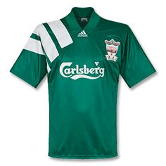 bab95b7a2 Adidas 92-93 Liverpool Away Centenary Shirt - Grade 8 92-93 Liverpool Away