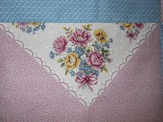 Made using the 2004 RJR Hooked on Hankies line.   Just need to put the borders on.