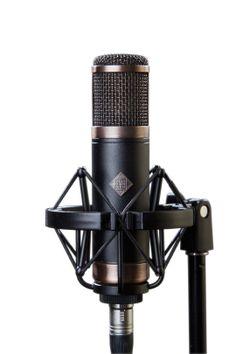 Telefunken CU-29. Affordable Telefunken valve microphone for home recording. £985 (ex VAT)