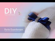 [DIY] 5 maneiras de como fazer Porta Guardanapo I Especial Fim do Ano e Natal- wFashionista - YouTube