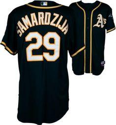 15324dce72b Jeff Samardzija Oakland Athletics Game-Used  29 Green Jersey vs. Houston  Astros On August 25
