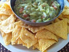 Salsa de guacamole casera