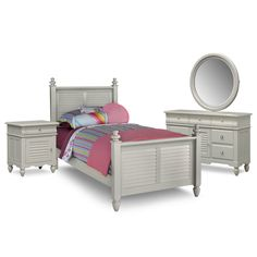 The Seaside Collection - Gray | American Signature Furniture