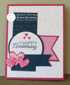 Happy Anniversary for Viva la Verve Feb  Wk. 2 by iluvscrapping - Cards and Paper Crafts at Splitcoaststampers
