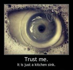 ° A sink, or an eye..